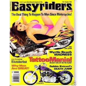 BEACH MADNESS AND 32 PAGES OF CUSTOM BIKES!: EASYRIDERS MAGAZINE
