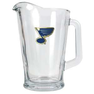 St Louis Blues 60 Oz. NHL Glass Beer Pitcher Kitchen & Dining