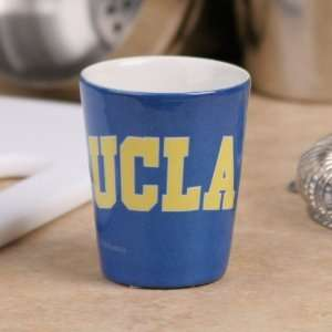 Bruins True Blue Gold Classic Ceramic Shot Glass Sports & Outdoors