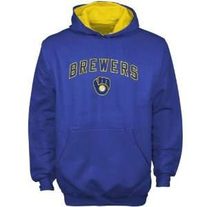 Majestic Milwaukee Brewers Royal Blue Youth Team Logo