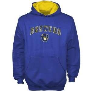 Majestic Milwaukee Brewers Royal Blue Youth Team Logo