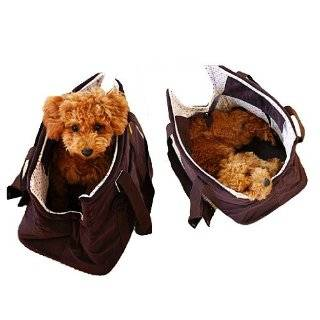 Hows Your Dog Corduroy Featherlite Pet Carrier Dog Tote