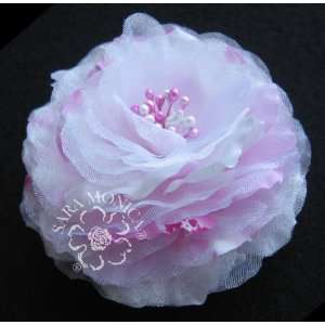 Artisan Collection Cherry Blossom Flower Hair Clip & Brooch Pin