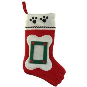 Club Pack of 96 Pet Christmas Stockings with Picture