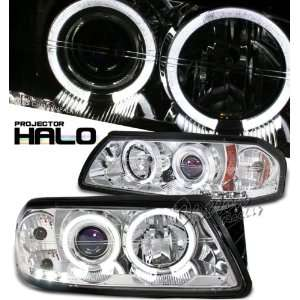 05 CHEVROLET CHEVY IMPALA DUAL HALO CHROME PROJECTOR HEADLIGHTS LAMP