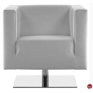 Reception Lounge Lobby Club Chair, Swivel Base