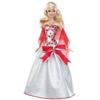 Barbie Holiday Sparkle Barbie Doll Toys & Games