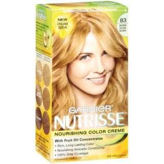 Garnier Nutrisse Haircolor, 83 Medium Golden Blonde Cream Soda Beauty