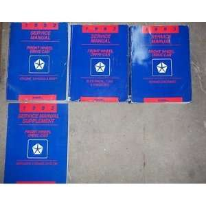 body Service Manual, wiring diagrams manual, service manual supplement