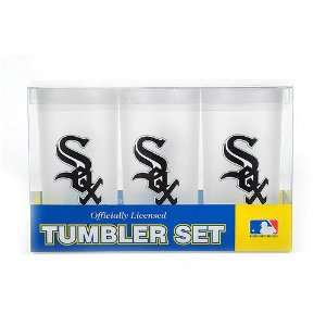 Chicago White Sox MLB Tumbler Drinkware Set (3 Pack) by Duck House