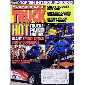 HOT Trucks Paint Engines   cover story   8/1995