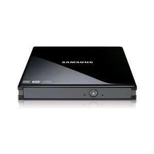 Black 8x DVD/ RW DL USB 2.0 Slim External Drive Retail