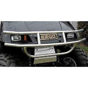 EZGO TXT Golf Cart Stainless Steel Brush Guard 94 Up