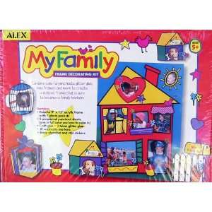 My Family Frame Decorating Kit Toys & Games