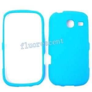 Samsung Freeform 3 R380 Fluorescent Solid Light Blue Hard Case, Cover