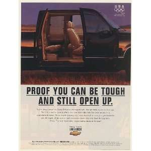 1996 Chevy C/K Pickup Truck 3rd Door Proof You Can Be