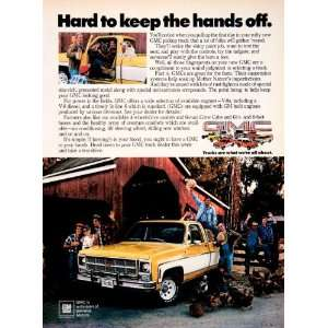 1979 Ad GMC General Motors Pickup Truck Automobile Vehicle