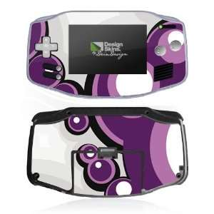 Design Skins for Nintendo Game Boy Advance   Bubbles