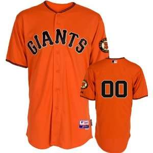 San Francisco Giants Jersey Any Player Alternate Orange Authentic