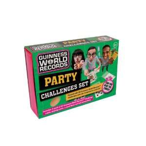 Guinness World Record Party Challenge Set Toys & Games
