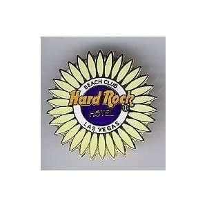 Hard Rock Cafe Pin # 4685 Las Vegas Hotel & Casino Yellow Sunflower