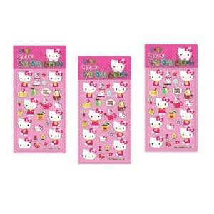 Hello Kitty Sanrio Casting Sticker Set   Pink