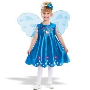 Magic Group 19606 Hello Kitty Butterfly Child Costume Size Medium 2 4