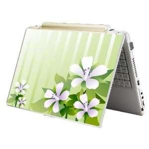 15   Fit HP Dell Asus Compaq   Purple Flower