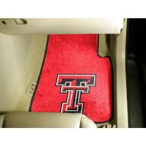 Texas Tech Red Raiders NCAA Car Floor Mats (2 Front