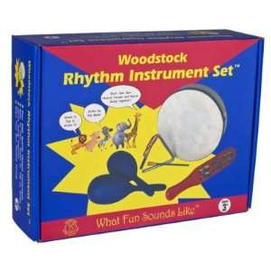 Woodstock Music Collection 4 Piece Rhythm Instrument Set Toys & Games