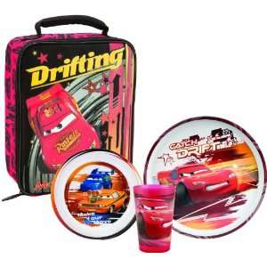 Cars 3 Piece Dinner Set With Insulated Lunch Bag