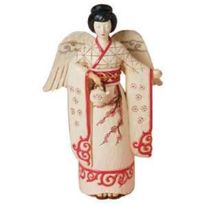 Japan Japanese Angel Around the World Statue Figurine Home & Kitchen