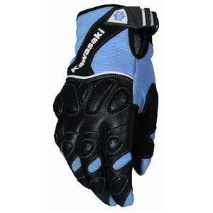 Joe Rocket Womens Kawasaki Jet Z Mesh Gloves   Large/Blue/Black
