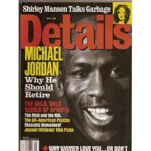Details Magazine, May 1998, Michael Jordan Cover (Single