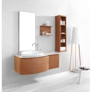 ES 1048 CH Isabelle 48 Inch Wall Mounted Single Sink Bathroom Vanity