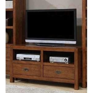 Natural Walnut Finish LCD / Plasma Flat Panel TV Stand