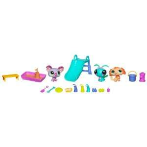 Littlest Pet Shop Themed Play Pack  Pet Playground Time