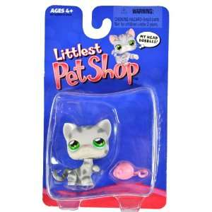 Hasbro Year 2004 Littlest Pet Shop Single Pack Series Bobble Head Pet
