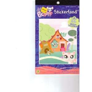 Littlest Pet Shop Stickerland Toys & Games