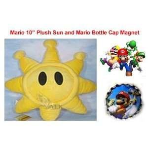 Super Mario Brothers, Luigi, Dry Bones, Yoshi and Gang 10 Plush