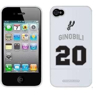 San Antonio Spurs Manu Ginobili Iphone 4G/4S Case