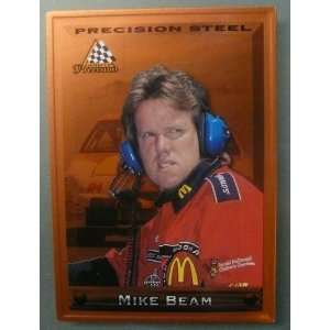 Mike Beam   Bronze Metal Collector Card   NASCAR Everything Else