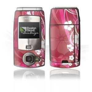 Design Skins for Nokia N71   Pink Flower Design Folie