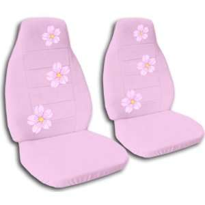 2 Sweet Pink seat covers with Cherry Blossoms for a 2010