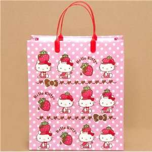 big pink Hello Kitty strawberry plastic bag from Japan Toys & Games
