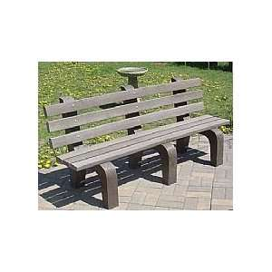 Standard Recycled Plastic Bench Patio, Lawn & Garden