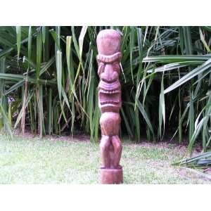 KU TIKI TOTEM 5 FOOT   POOL LANDSCAPE DESIGN Patio, Lawn & Garden