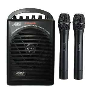Handheld Wireless Microphone Portable Pa System Musical Instruments