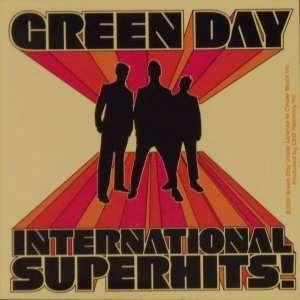 Green Day Punk Rock Music Band Sticker   International