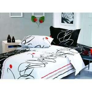 Full Queen  6 Pieces Duvet Cover Bedding Set  Life